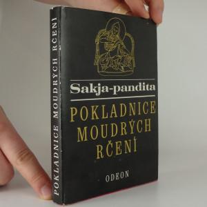náhled knihy - Sakja-pandita - Pokladnice moudrých rčení