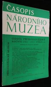náhled knihy - Časopis Národního muzea, oddíl přírodovědný, ročník 141, č. 1-2