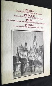 náhled knihy - Praha v grafických pohledech z 19.století