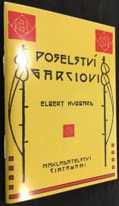 náhled knihy - Poselství Garciovi