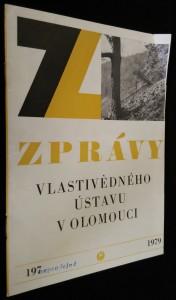 náhled knihy - Zprávy vlastivědného ústavu v Olomouci