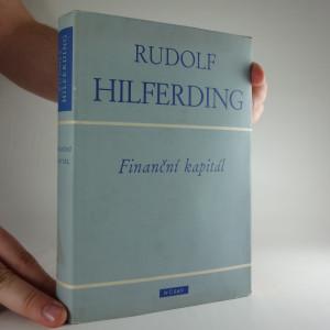 náhled knihy - Finanční kapitál