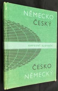 náhled knihy - Německo-český a česko-německý kapesní slovník.
