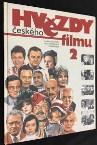 náhled knihy - Hvězdy českého filmu 2