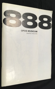 náhled knihy - Opus Musicum, Ročník XX/88/8