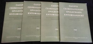 náhled knihy - Časopis Československé společnosti entomologické, ročník 57, č. 1-4
