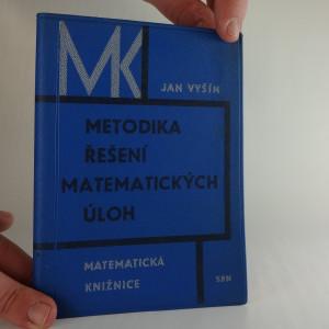 náhled knihy - Metodika řešení matematických úloh
