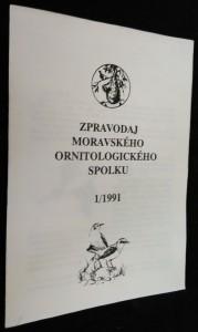 náhled knihy - Zpravodaj moravského ornitologického spolku 1/1991