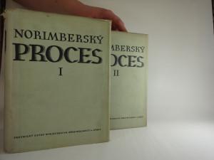 náhled knihy - Norimberský proces - sborník materiálu. Díl 1,2