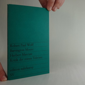 náhled knihy - Kritik der reinen Toleranz