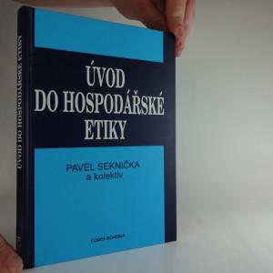 náhled knihy - Úvod do hospodářské etiky