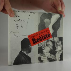 náhled knihy - Řečiště