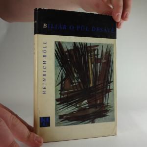náhled knihy - Böll: Biliár o půl desáté