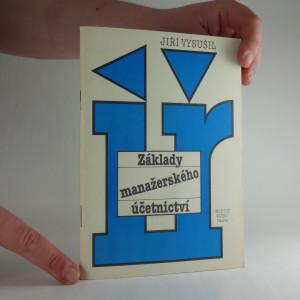 náhled knihy - Základy manažerského účetnictví