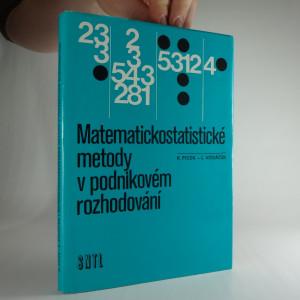 náhled knihy - Matematickostatistické metody v podnikovém rozhodování