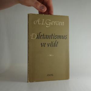 náhled knihy - Diletantismus ve vědě