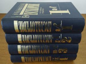 náhled knihy - Všeobecná encyklopedie ve čtyřech svazcích