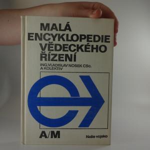 náhled knihy - Malá encyklopedie vědeckého řízení