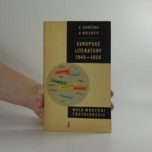 náhled knihy - Malá moderní encyklopedie evropské literatury 1945-1958