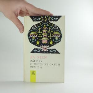 náhled knihy - Zápisky o budhistických zemích