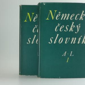 náhled knihy - Německo-český slovník. 2 svazky