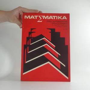 náhled knihy - Matematika pro informační pracovníky