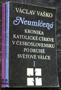 náhled knihy - Neumlčená : kronika katolické církve v Československu po druhé světové válce