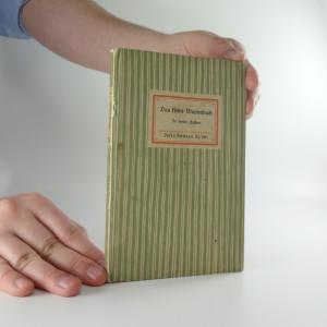 náhled knihy - Das kleine Blumenbuch