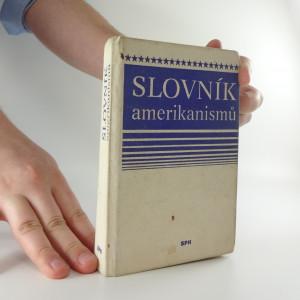 náhled knihy - Slovník amerikanismů