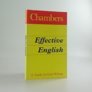 náhled knihy - Effective English