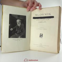 náhled knihy - Slovník československých výtvarných umělců
