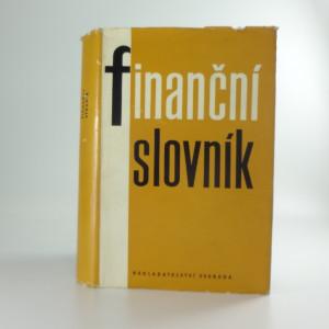 náhled knihy - Finanční slovník