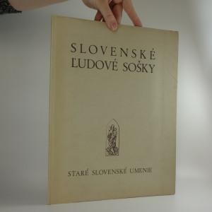 náhled knihy - Slovenské ľudové sošky