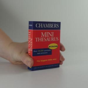 náhled knihy - Chambers Mini Thesaurus