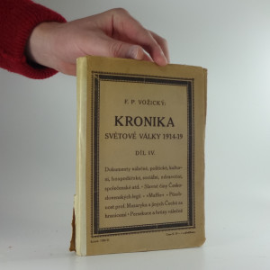 náhled knihy - Kronika světové války : 1914-1919; díl IV.