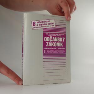 náhled knihy - Občanský zákoník, poznámkové vydání s judikaturou
