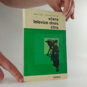 náhled knihy - Včera televize, dnes zítra