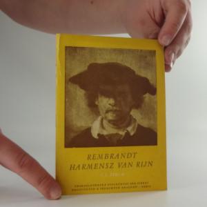 náhled knihy - Rembrandt, Harmenesz, Van Rijn