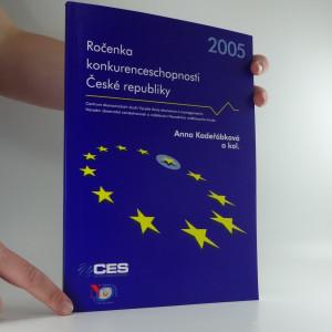 náhled knihy - Ročenka konkurenceschopnosti České republiky  2005