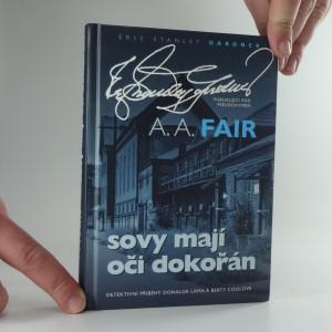 náhled knihy - Sovy mají oči dokořán : detektivní příběhy Donalda Lama a Berty Coolové