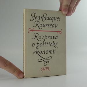 náhled knihy - Rozprava o politické ekonomii
