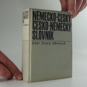 náhled knihy - Německo-český a Česko-německý slovník, část česko-německá