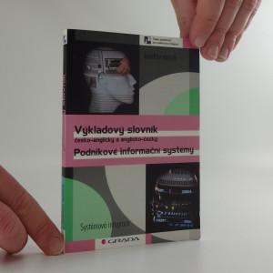 náhled knihy - Podnikové informační systémy : výkladový slovník česko-anglický a anglicko-český