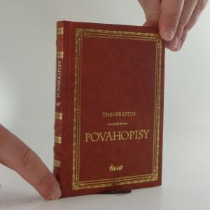 náhled knihy - Povahopisy