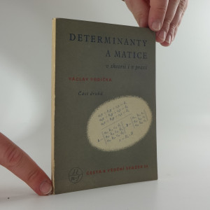 náhled knihy - Determinanty a matice, v theorii i v praxi, část II.