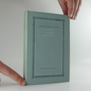 náhled knihy - Kalendář ; Žalozpěvy ; Listy z Pontu