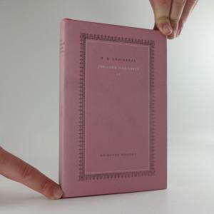 náhled knihy - Jarmark marnosti - román bez hrdiny, svazek II.