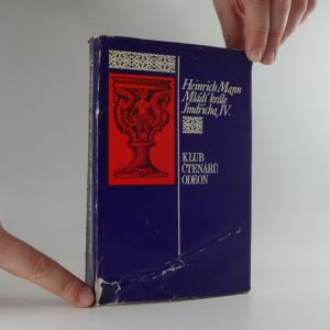 náhled knihy - Mládí krále Jindřicha IV.