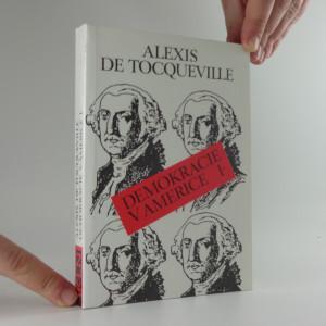 náhled knihy - Demokracie v Americe. Sv. 1