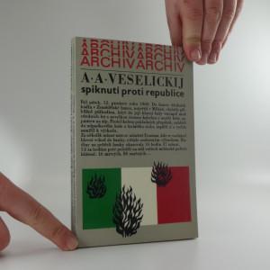 náhled knihy - Spiknutí proti republice